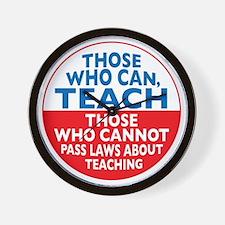 who can teach Circle Wall Clock