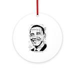 Barack Obama (distressed) Ornament (Round)