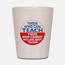 who can teach Circle small Shot Glass