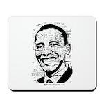 Barack Obama (distressed) Mousepad