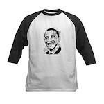 Barack Obama (distressed) Kids Baseball Jersey