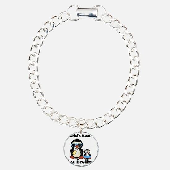 big brother penguin Charm Bracelet, One Charm