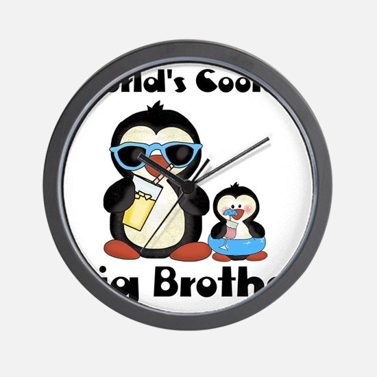 big brother penguin Wall Clock