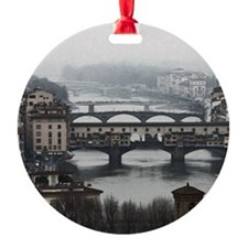 Bridges of Florence Italy Ornament