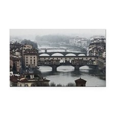 Bridges of Florence Italy Rectangle Car Magnet