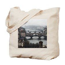 Bridges of Florence Italy Tote Bag