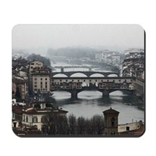 Bridges of Florence Italy Mousepad