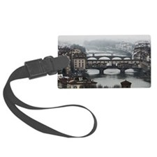 Bridges of Florence Italy Luggage Tag