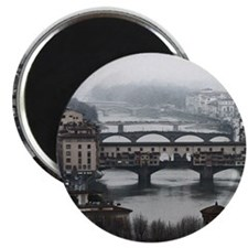 Bridges of Florence Italy Magnet