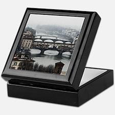 Bridges of Florence Italy Keepsake Box