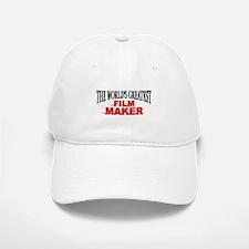 """""""The World's Greatest Film Maker"""" Baseball Baseball Cap"""
