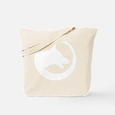 WhiteSwoosh Tote Bag