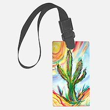 Saguaro cactus! Southwest art! Luggage Tag
