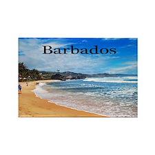 Barbados5.5x3.5 Rectangle Magnet