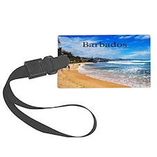 Barbados5.5x3.5 Luggage Tag