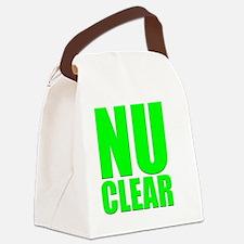 nuclear Canvas Lunch Bag
