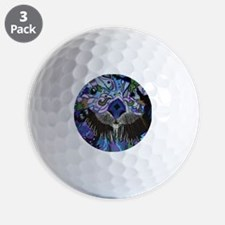 otter-posterized-cropped Golf Ball