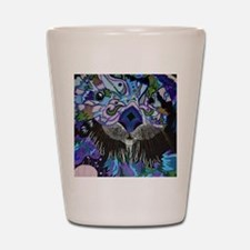 otter-posterized-cropped Shot Glass