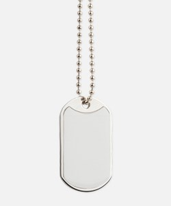 vintage robot sketch Dog Tags