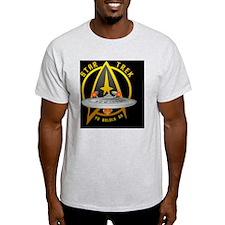 startrekship01black2 T-Shirt