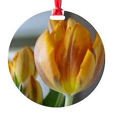 Yellow Tulip Ornament