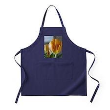 Yellow Tulip Apron (dark)