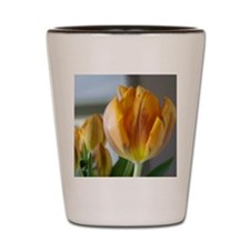 Yellow Tulip Shot Glass