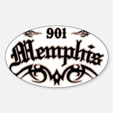 Memphis 901 Decal