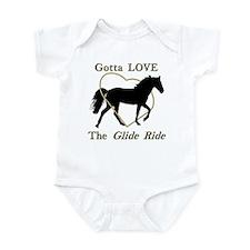 Gotta LOVE the Glide Ride! Infant Bodysuit