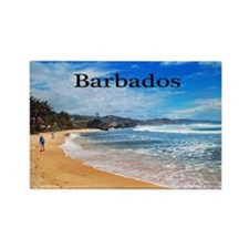 Barbados14x10 Rectangle Magnet