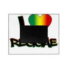 I_lovereggae_LIGHT copy Picture Frame