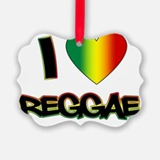 I_lovereggae_LIGHT copy Ornament