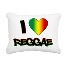 I_lovereggae_LIGHT copy Rectangular Canvas Pillow