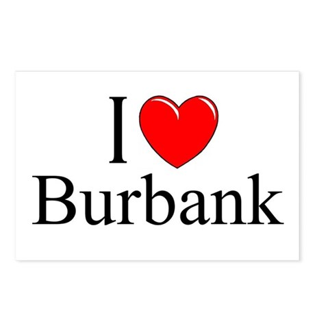 """I Love Burbank"" Postcards (Package of 8)"