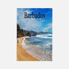 Barbados2.91x4.58 Rectangle Magnet
