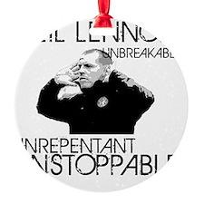 Lennon Unstoppable Ornament