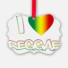I_lovereggae_DARK copy Ornament