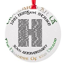 Hunger Strike 30th Anniversary Ornament