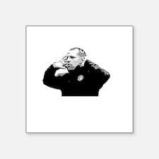"Lennon Unstoppable DARK Square Sticker 3"" x 3"""