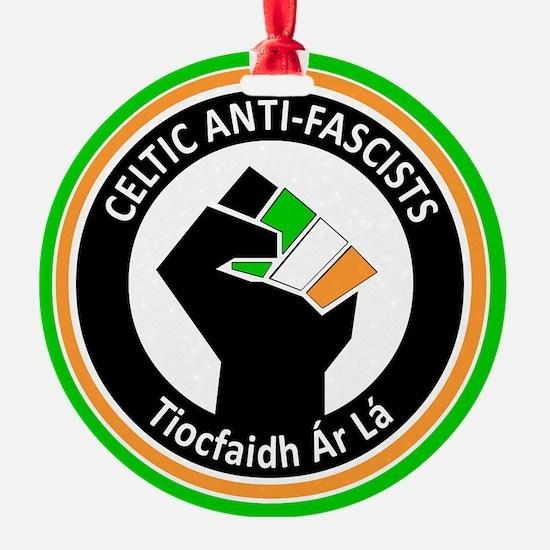 Celtic Antifascists Ornament