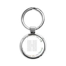 Hunger Strike 30th Anniversary DARK Round Keychain