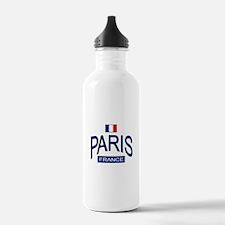 paris_france.png Water Bottle