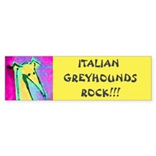 IGs Rock Bumper Bumper Sticker