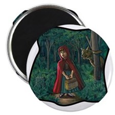 red riding hood tshirt copy Magnet