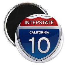 Interstate 10 - California Magnet