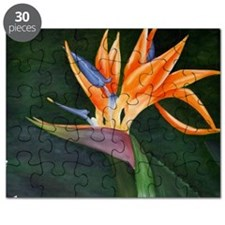 Bird of Paradise (Oil) with frame Puzzle