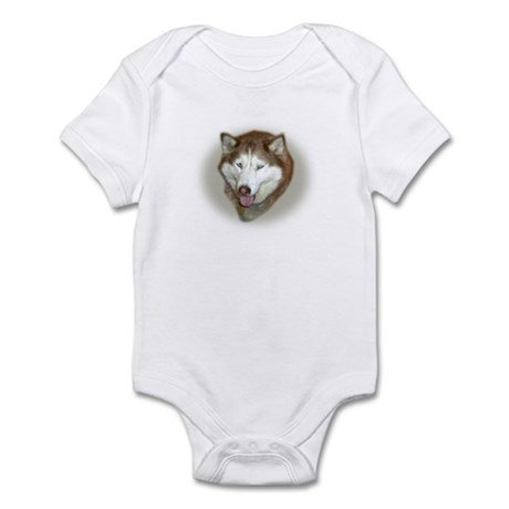 Red Husky Infant Bodysuit