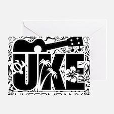 Uke Company HI Greeting Card