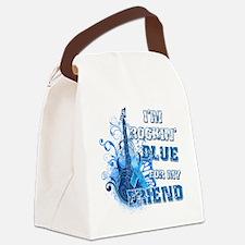Im Rockin Blue for my Friend Canvas Lunch Bag