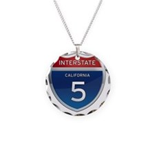Interstate 5 - California Necklace